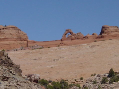 vakantie 2003 Delicate Arch 4